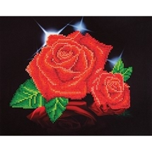 Red Rose Sparkle - Diamond Dotz