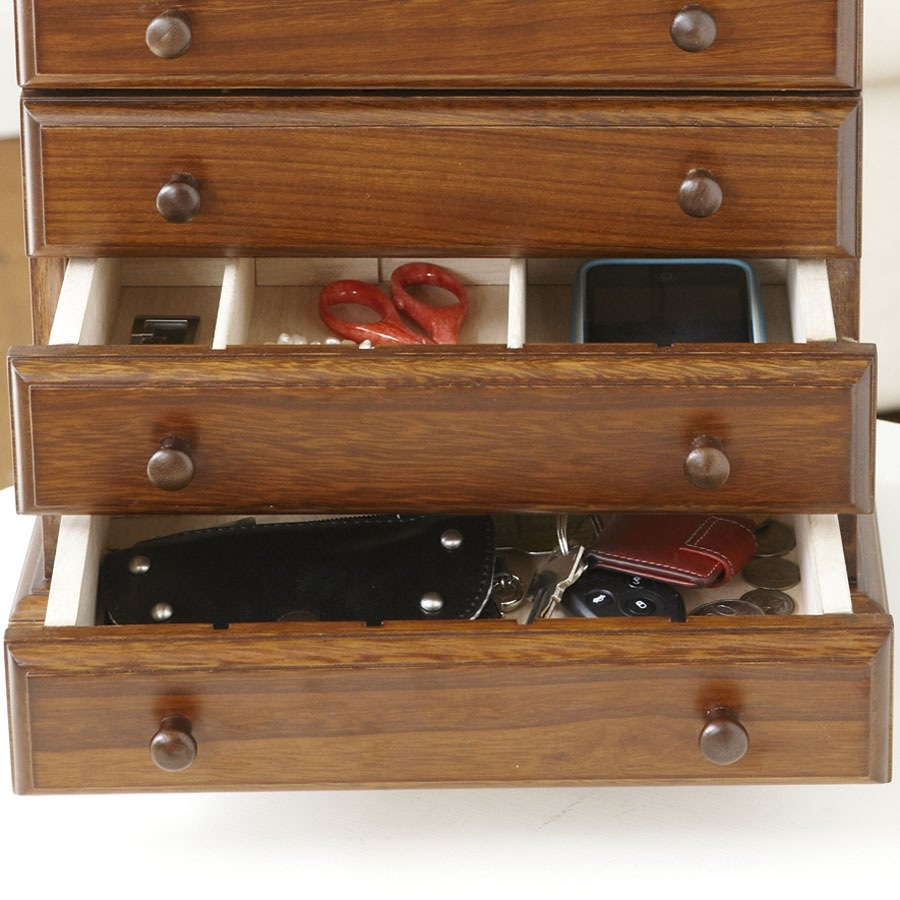 Crafter's 6-Drawer Wooden Thread Cabinet_31980_4