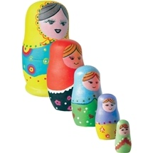 Wooden Matryoshka Doll Kit