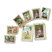 Garden Flowers - 3D Greeting Card Kit