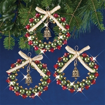 Bell Wreaths Ruby Green