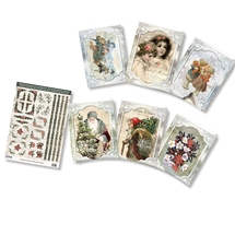 3D Christmas Card Kits - Nostalgic Christmas 2