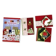 3D Christmas Cards Decoupage Book