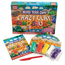 Mould Your Own Crazy Clay Dinosaurs