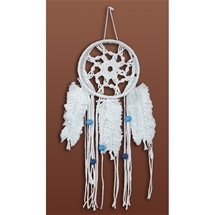 Macrame Feathered Dreamcatcher