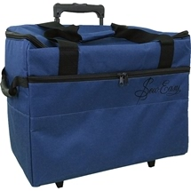 Sewing Machine Trolley Bag Blue