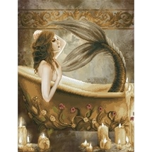 Bath Time Mermaid