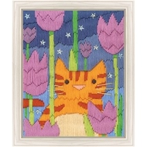 Tiger Long Stitch
