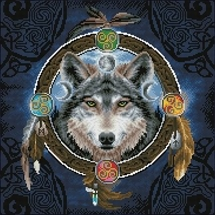 Celtic Wolf Guide Diamond Dotz