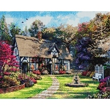 Country Cottage Crystal Art