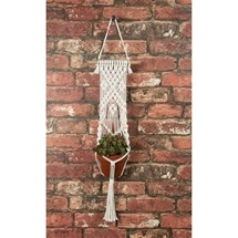 Three Beads Macrame Plant Hanger
