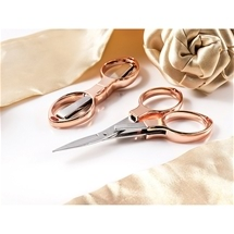 Rose Gold Folding Scissor 2-Pack