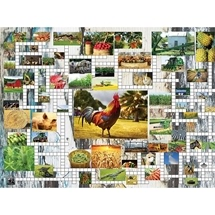 Farm and Country 1000 pc - with Crossword