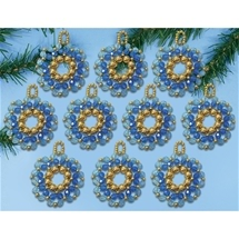 Holiday Wreaths - Blue