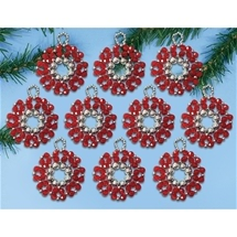 Holiday Wreaths - Red