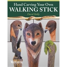 Hand Carving Your Own  Walking Stick