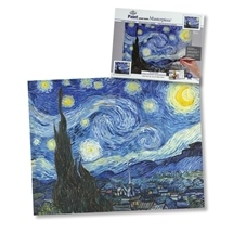 Paint Your Own Masterpiece Art Series - Starry Night