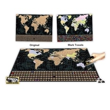 4D Cityscapes World Map 1000pc
