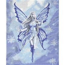 Snow Fairy Crystal Art