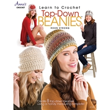 Learn to crochet top-down beanies