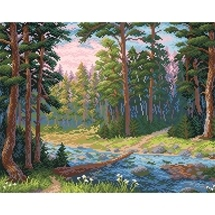 Forest Stream Diamond Painting