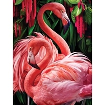 Flamingos Diamond Painting