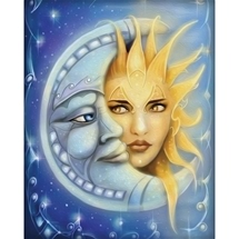 Sun & Moon Diamond Painting
