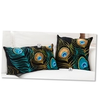 Peacock Feathers Cushions