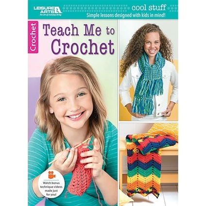 Teach Me How To Crochet : Colouring Books Crochet & Knitting Cross Stitch & Embroidery Quilting...